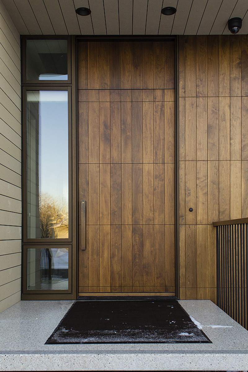 Monteyne Architecture | Projects - Linden Woods Residence - Photo: Yarrow Sash and Door