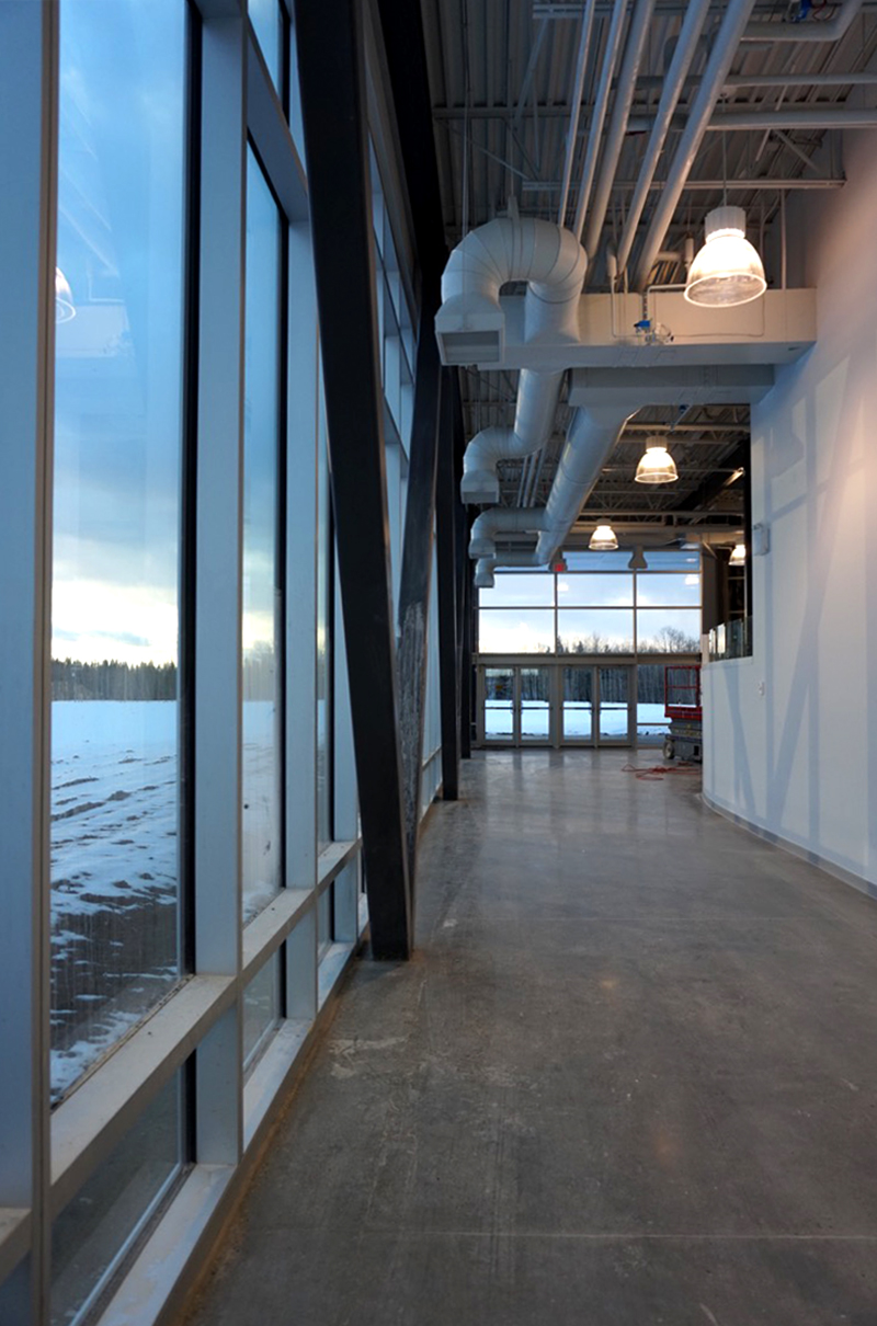 Monteyne Architecture | Projects - Drayton Valley BioMile