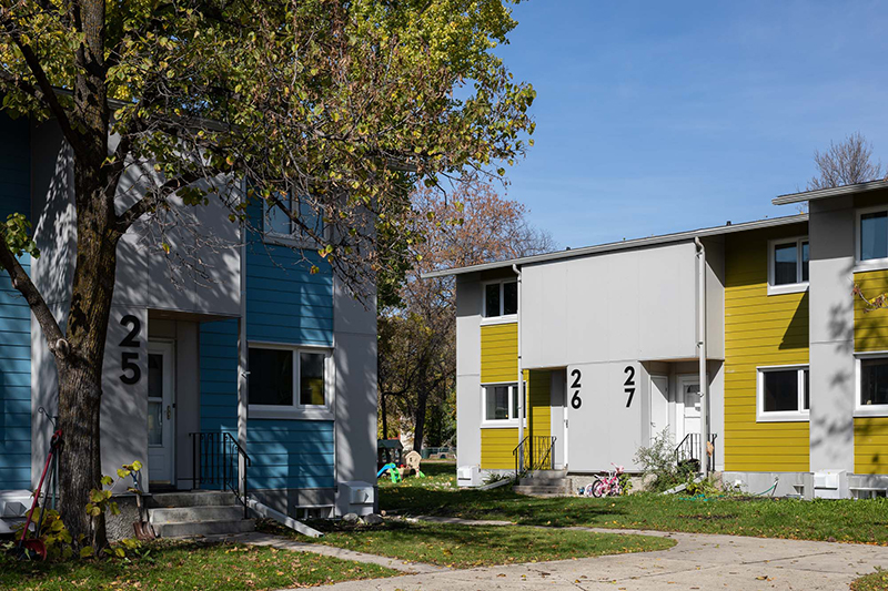 Monteyne Architecture | Projects - Village Canadien