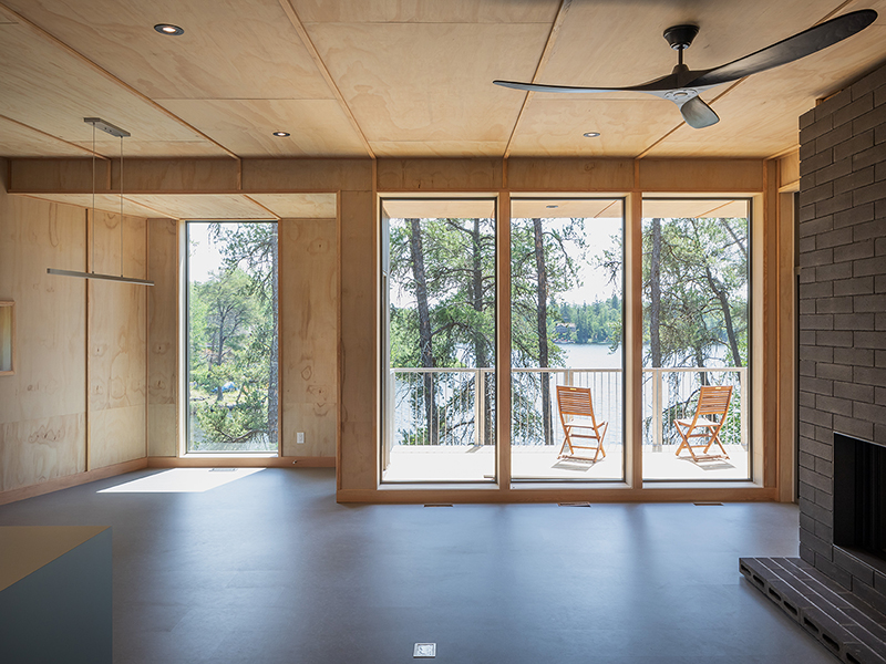 Monteyne Architecture | Projects - Whiteshell Cabin