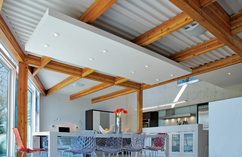 Monteyne Architecture   Residential - WY House - DINING AREA & KITCHEN