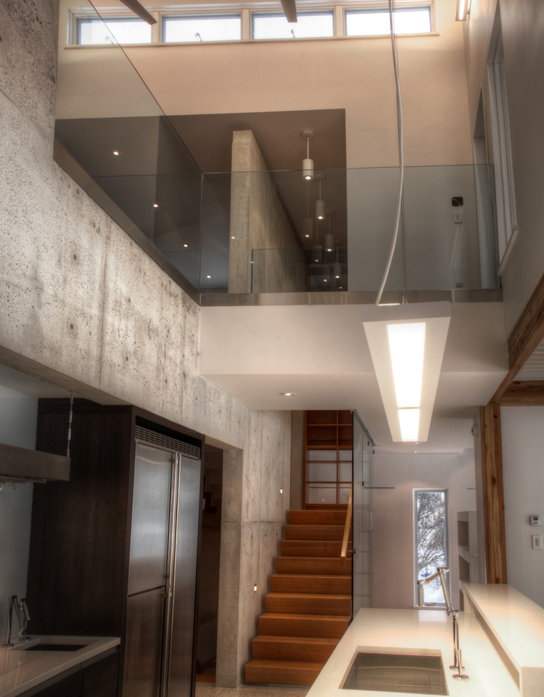 Monteyne Architecture   Residential - WY House - VIEW FROM KITCHEN