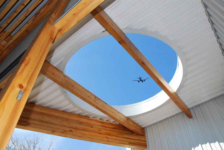 Monteyne Architecture | Residential - WY House - OCULUS DETAIL