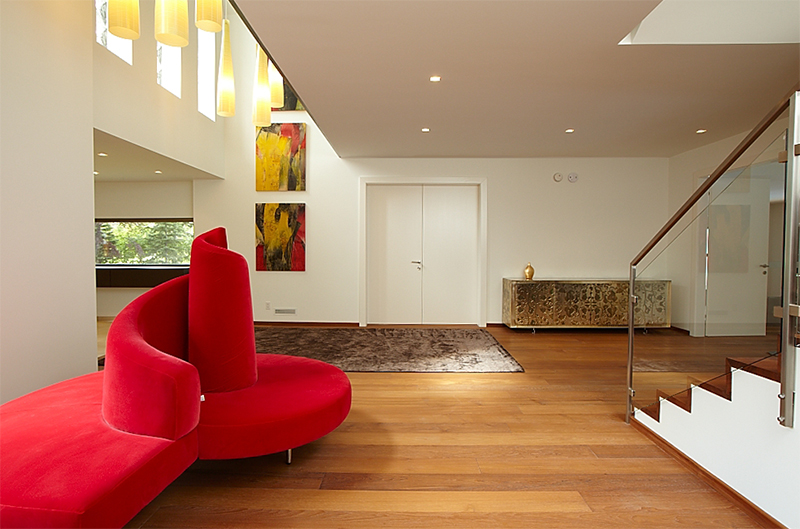 Monteyne Architecture | Projects - Wellington Redux - FOYER