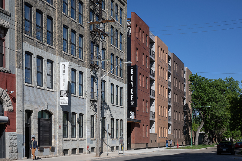 Monteyne Architecture | Projects - 316 Ross Ave. - FRONT FACADE