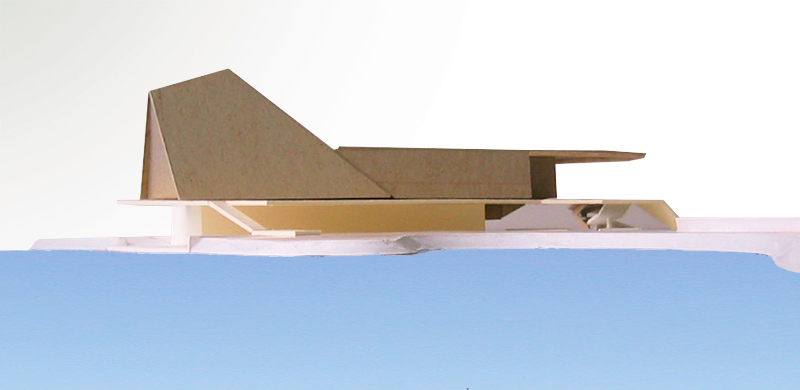 Monteyne Architecture | Projects - Buffalo Crossing - PHYSICAL MODEL