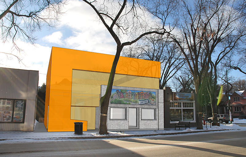 Monteyne Architecture   Projects - The Neighbourhood Bookstore & Cafe - EARLY DESIGN STUDY