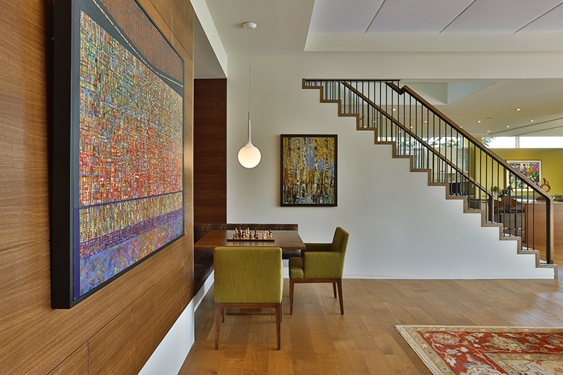 Monteyne Architecture | Projects - Linden Woods Residence - Great Room