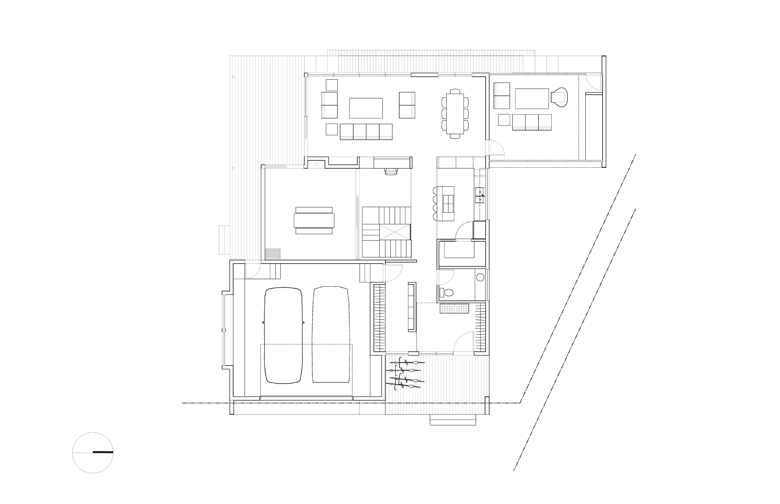 Monteyne Architecture   Projects - LW House - Main Level