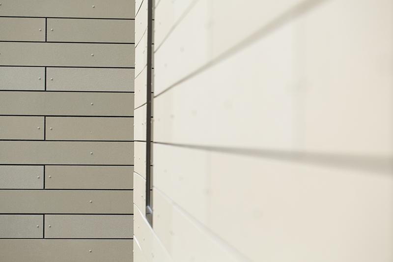 Monteyne Architecture | Projects - Linden Woods Residence - Exterior cladding detail