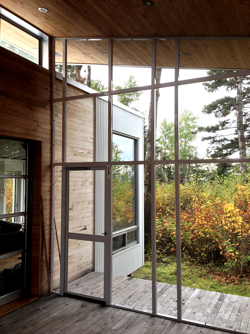 Monteyne Architecture | Projects - Driftwood Beach Cabin